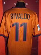 RIVALDO 1998-1999 BARCELONA MAGLIA SHIRT CALCIO FOOTBALL MAILLOT JERSEY CAMISETA