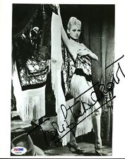 Brigitte Bardot Psa/dna Signed 8x10 Photo Authenticated Autograph