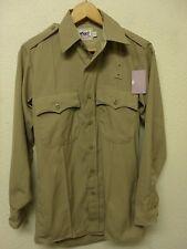 Elbeco 'Duty Plus' Tan Police/CHP Uniform Long Sleeve Shirt, Size 14x32 (A2441)