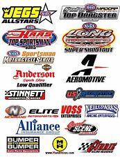 RC Car truck racing drift Stickers sponsors Decals 2