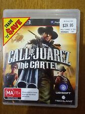 Call Of Juarez - The Cartel PlayStation 3 Game PS3 FREE POST