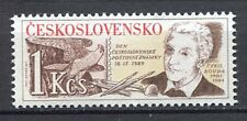 33340) CZECHOSLOVAKIA 1989 MNH** Stamp day 1v