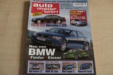 2) AMS 07/2002 - Volvo S 60 D5 Premium mit 163P - Audi A4 2.5 TDI mit 155PS bess