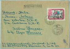 67888 - Russia USSR - POSTAL HISTORY -   COVER to ITALY  Football  1957