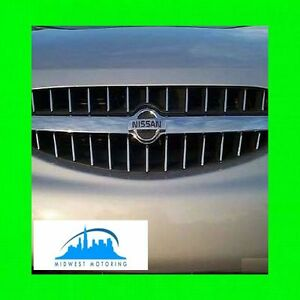 CHROME TRIM FITS GRILL GRILLE FOR NISSAN ALTIMA (1998-2001) WITH 5 YR WRNTY