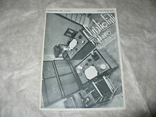 CATALOGO LISTINO PREZZI 1935 C. USIGLIO & FIGLI MILANO CANCELLERIA ACCESSORI UFF