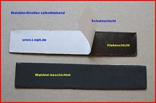 10 Walzblei Blei-Streifen 14,0 x 2,7 cm a 40 Gr. selbstklebend Basteln Modellbau