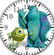 Disney Monster Inc. Borderless Wall Clock for Home Office Wall Decor A462