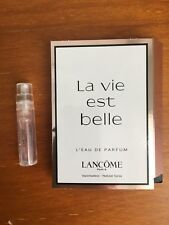 New Lancome La Vie Est Belle Eau De Parfum Spray 1.2ml Mini Sample Size