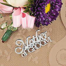 Mother of the Groom Silver Pin Wedding Decoration Party Gift Pendant Brooch