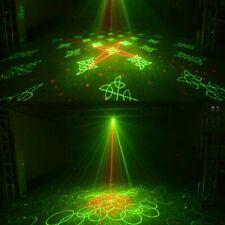 60Muster Laser Projektor RGB LED Beleuchtung USB DJ Disco Home Party Bühnenbele