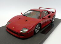 Top Marques 1/18 Scale Model Car TOP098A - Ferrari F40 - Red