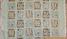 Bloom Walk in God's Beauty & Love Religious Verses Fabric Panels 23