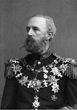 Photo.  1880s.  Norway.  Portrait of King Oscar II