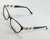 New TURA R215 Tortoise Women's Eyeglasses Frames 52-15-135