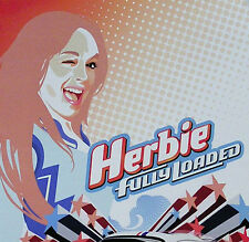LINDSAY LOHAN 2005 HERBIE FULLY LOADED ORIGINAL PROMO POSTER