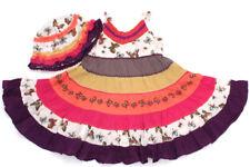 NEXT Stufen-Kleid und Sommer-Hut - 92