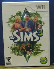 Nintendo Wii Sims 3 People Simulator - Electronic Arts - 2009