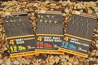Guru QM1 Bayonet Ready Tied Rigs / All Sizes Available / Coarse Fishing