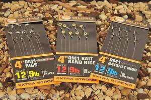 Guru QM1 Bait Band Ready Tied Rigs / All Sizes Available / Coarse Fishing
