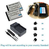 Battery / Charger for Samsung BP-70A & Samsung TL205 WB30F   WP10 DV90 DV100
