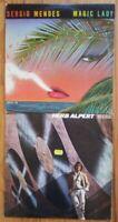 HERB ALPERT Rise SERGIO MENDES Magic Lady Vinyl LP Record jazz pop latin disco