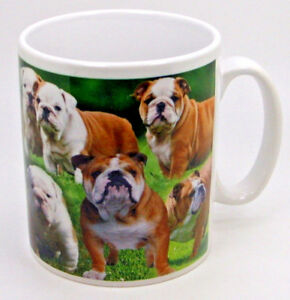 Dog Collage White Porcelain Mugs(A-G) ~ Choose from List ~ 1