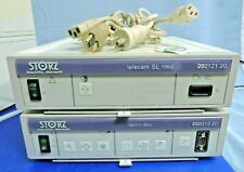 Lot 2 Storz Telecam Sl Ntsc Camera Control 20212120 With Twin Video Calibrated