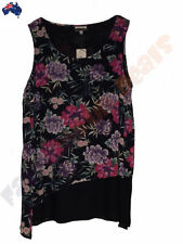 Autograph Polyester Floral Sleeve Tops & Blouses for Women