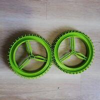 LEGO PARTS - x2 Technic Wheel Hard Plastic  (160mm D. x 28mm) Excellent
