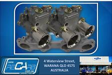 Suits Datsun L16 L18 L20 - GENUINE WEBER Twin 45 DCOE Carburettor Conversion Kit
