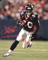 Terrell Davis Autographed Signed 8x10 Photo HOF Broncos REPRINT