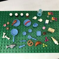 Lego Friends Minifigure Kitchen Accessories Food Cooking Utensils Job Lot (B)