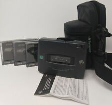 GE General Electric Cassette Recorder Player Samsonite Case 5367 SEE VIDEO a9