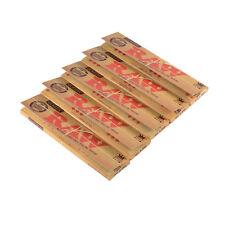 Raw Papier à Rouler Taille Extra Large Fins Classique Naturel non Raffiné Coque