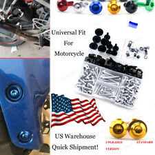 Universal 10pcs Motorcycle Windshield Bolts Screw For Buell XBRR 1125R 2008-2016