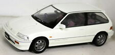 Triple9 1/18 Scale - 1800104 Honda Civic EF-3 Si 1987 White Model Car