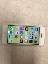 Apple iPhone 5  - 16 GB - silver sprint good condition