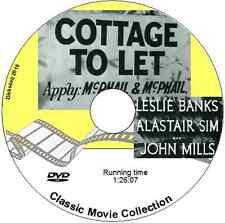 Cottage to Let - Leslie Banks, Alastair Sim, John Mills    Film 1941 DVD