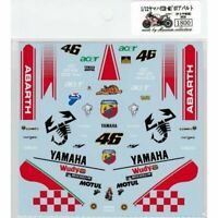 Museum Collection 1/12 Yamaha YZR-M1 '07 Abarth Rossi Decal for TAMIYA D535