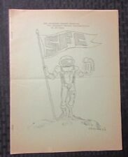 1970's The Southern Fandom Handbook SFC Science Fiction Fanzine #? VG 16pgs