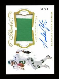 2018 Flawless #PA-RC Randall Cunningham /25 Autograph NM-MT OR BETTER *GMCARDS*