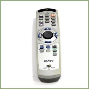 Genuine Sanyo CXMJ projector remote control - tested & warranty