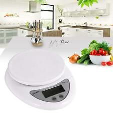 5kg LCD Digital Electric Kitchen Weight Scale Postal Diet Food Weigh Balance BN