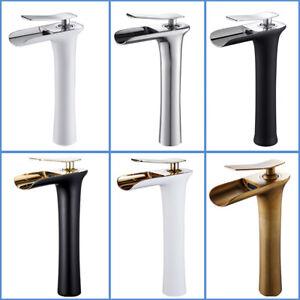 Design Retro Hoch Einhebel Wasserhahn Mischbatterie Badarmatur Küche Waschbecken