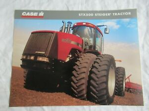 Case CASEIH STX500 Steiger tractor specification sheet brochure