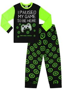 Boys I Paused My Game To Be Here Green Gaming Pjs