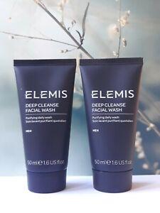 Elemis For Man Deep Cleanse Facial Wash, 2x 50 ml ( 100 ml ), Sealed