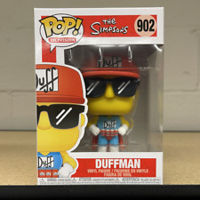 Funko Pop! Tv: The Simpsons - Duffman (In Stock) Vinyl Figure