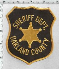 Oakland County Sheriff (Michigan) 3rd Issue Shoulder Patch